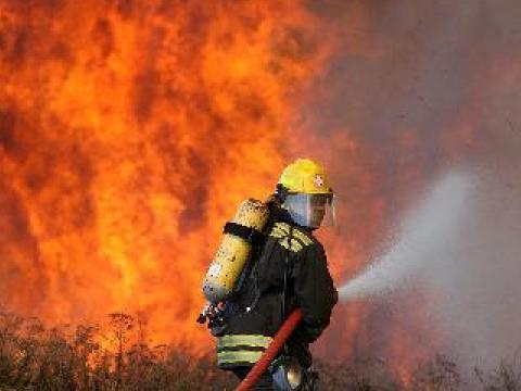 Пожар в Юпер