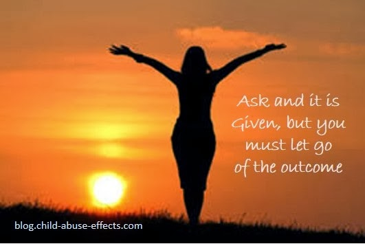 Ask and it is Given, But You Must Let Go of the Outcome