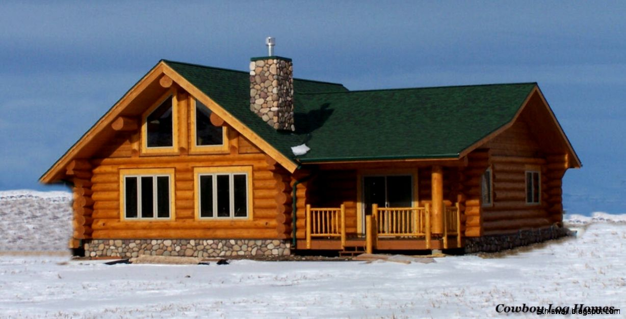 Small log homes designs this wallpapers for Mountain log home plans