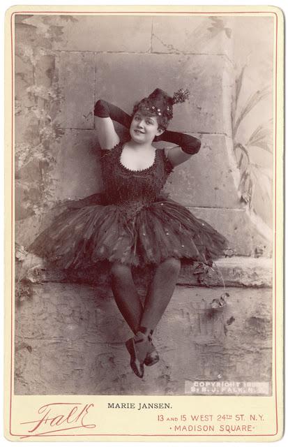 Мария Янсен -  актриса и певица комической оперы и балета
