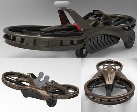 Motor terbang Hoverbike Aero-X