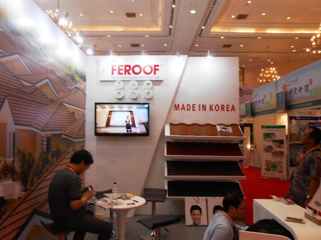 FERROF @ Indo Building Tech, JCC, 2015