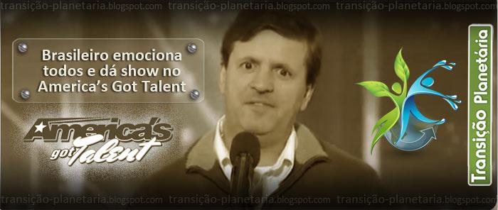 Luiz Meneghin - Brasileiro no America's got Talent