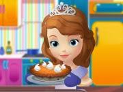 Sofia Cooking Pumpkin Tart