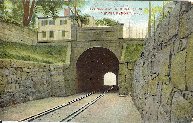Railroad Tunnel, Newburyport, Massachusetts