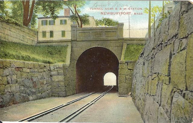 Railroad Tunnel, Newburyport, Massachusetts