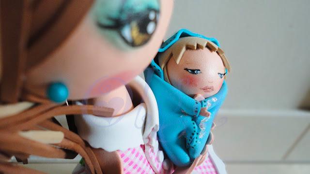 fofucha para baby shower bebé