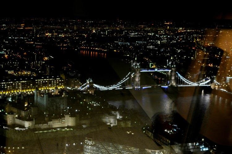 view from london skygarden