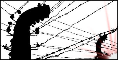 Concentration Camp barbed wire