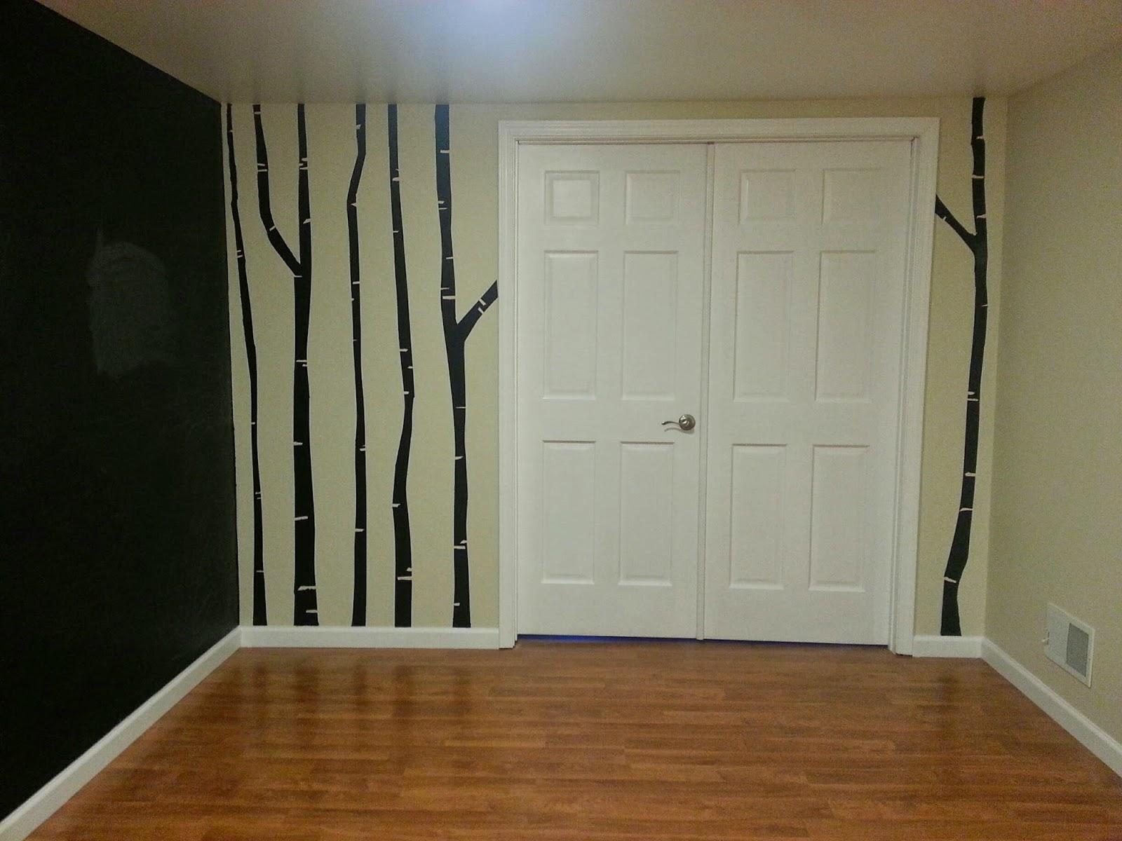 wading through soup chalkboard paint birch tree mural featuring chalkboard paint birch tree mural featuring lullaby paints zero voc chalkboard paint