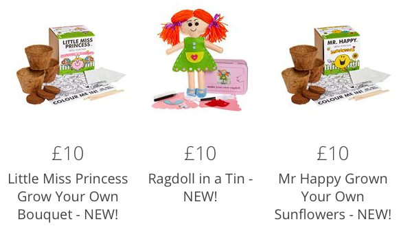 gift range for children from online shopping at Moonpig.com