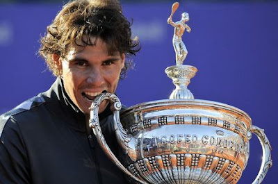Rafael Nadal wins seventh title in Barcelona