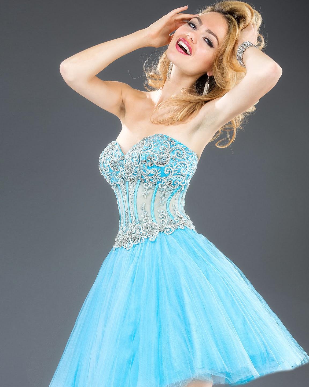 Bonitos Vestidos de 15 años - Moda 2014