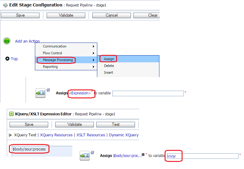 Add Assign Inside Pipleline pair