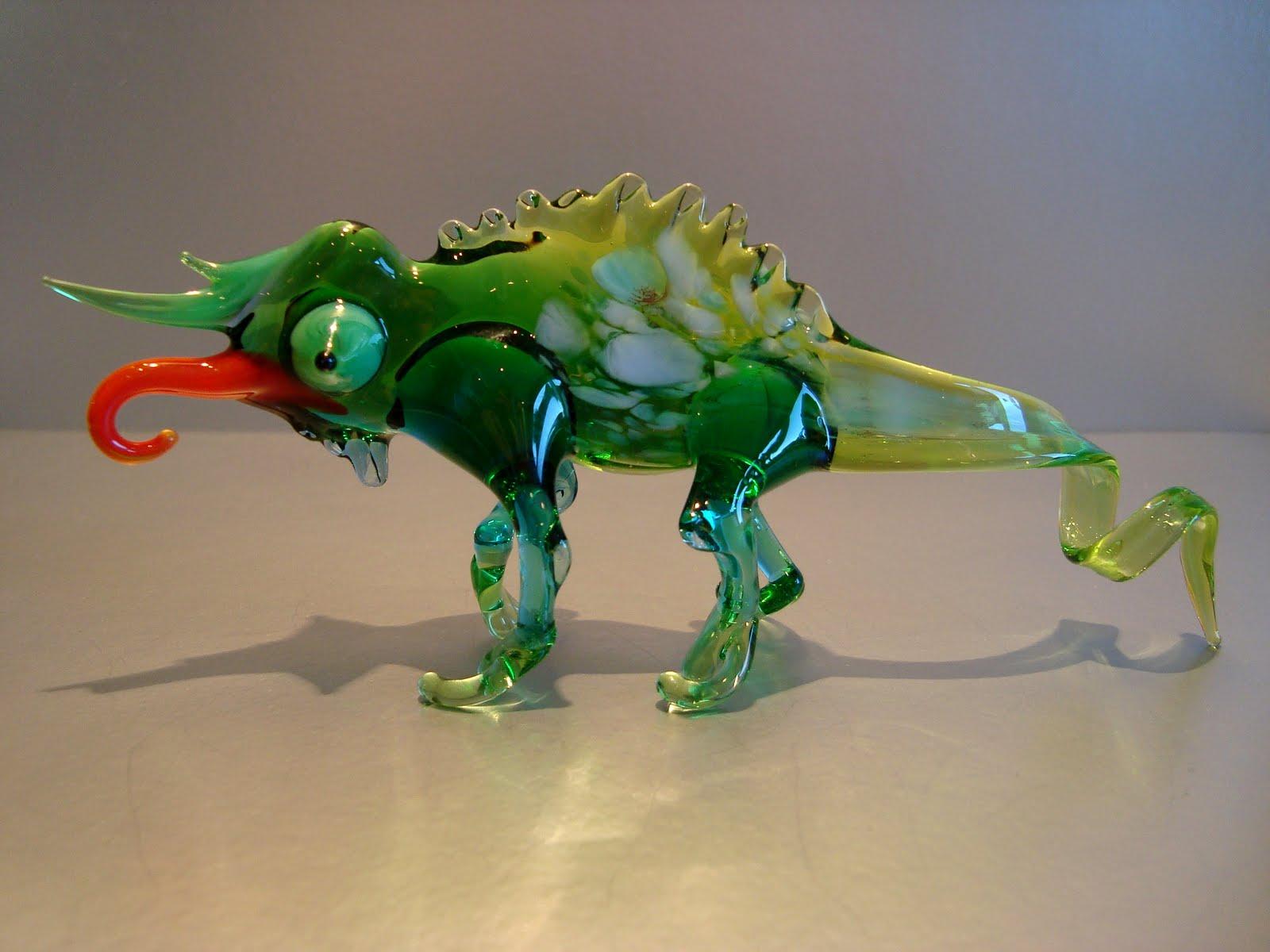 Grants glass - изделия и игрушки из стекла: Скорпионы, лягушки, жуки, крабы, ящерицы, пауки, жуки