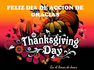 Feliz Dia de Accion de Gracias, parte 1