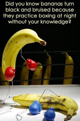 香蕉晚上會做什麼?