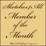 I won Member of the Month for October 2013