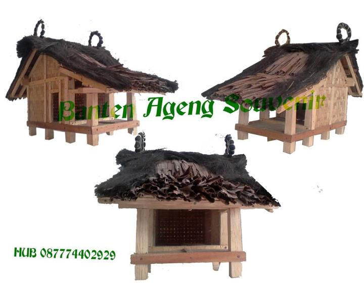 Download this Miniatur Rumah Baduy Lucu Euy picture