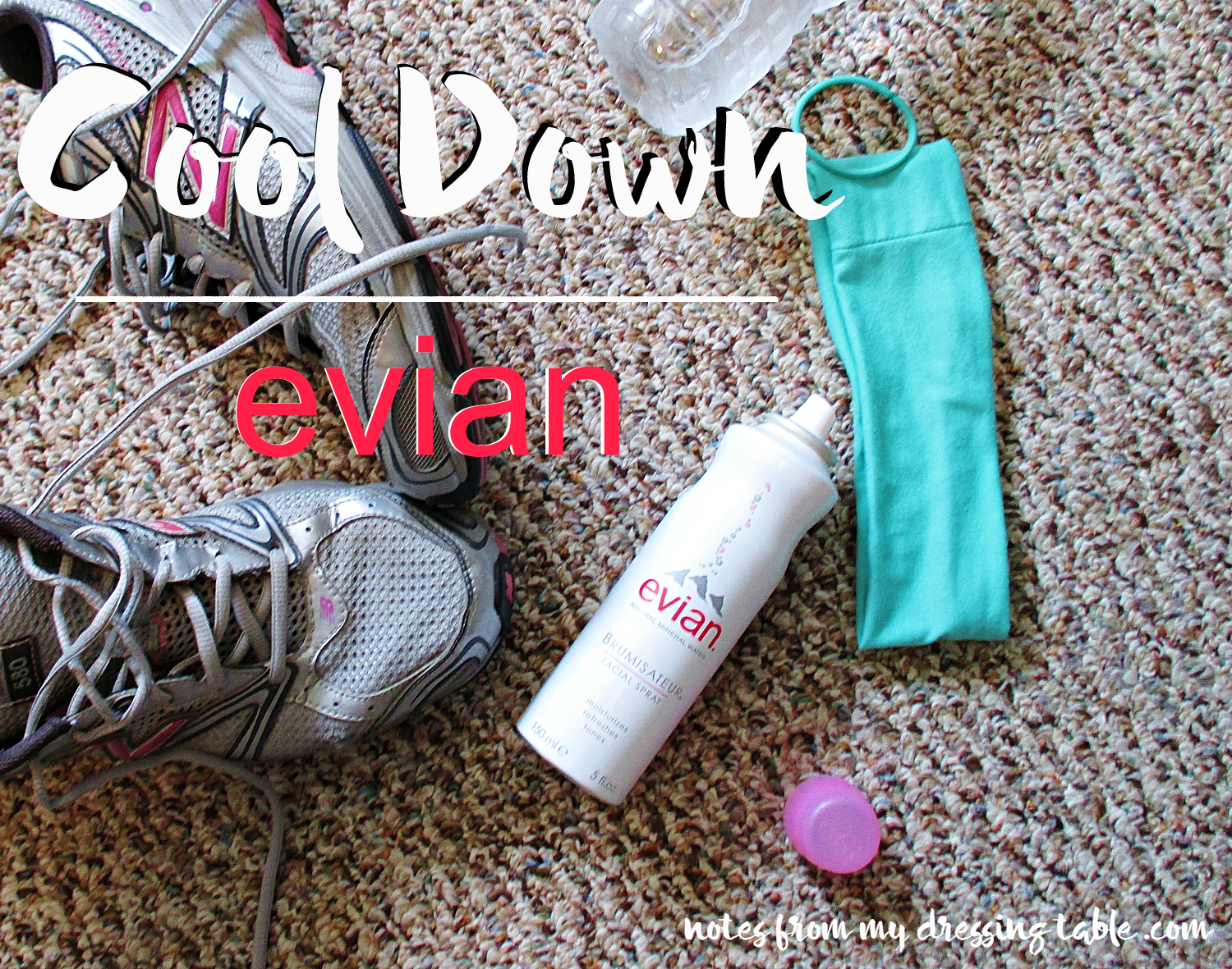 Cool Down with Evian Facial Spray notesfrommydressingtable.com