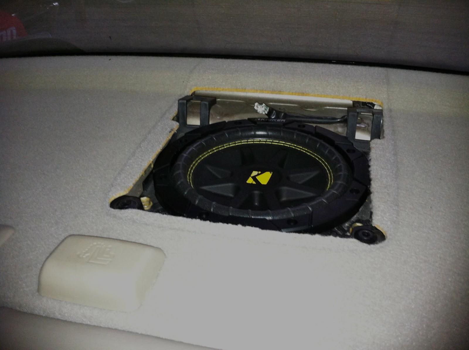 2002 toyota avalon rear speaker removal. Black Bedroom Furniture Sets. Home Design Ideas