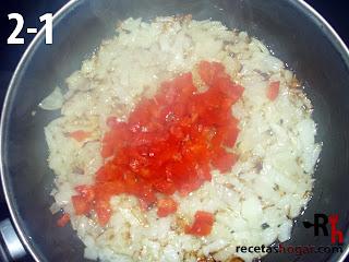 Rollitos de jamón con atún - Paso 2-1