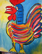 Picasso Rooster