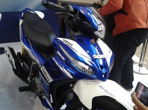 Livery MotoGP pada Jupiter Z 1 ga jauh beda
