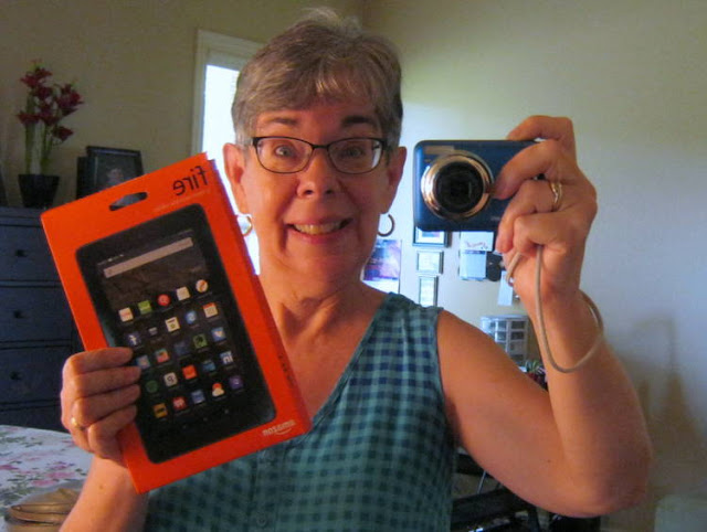 Celebrating New Fire Tablet for Wordless Wednesday