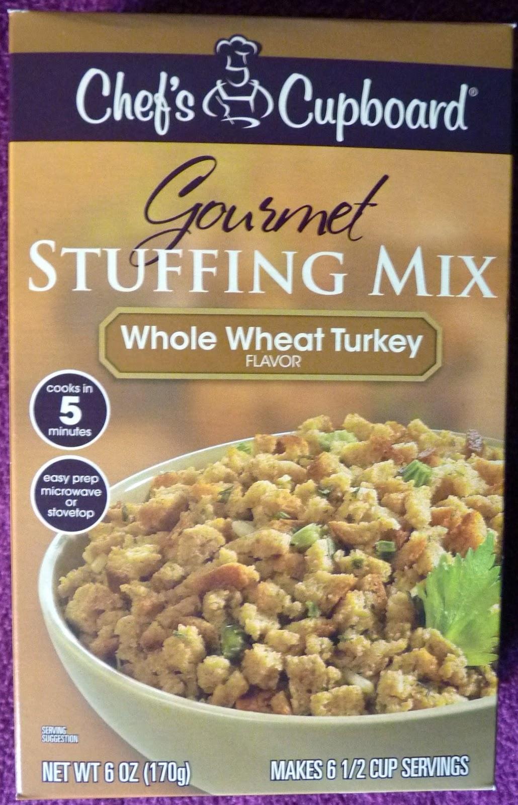 Chef's Cupboard Whole Wheat Turkey Stuffing Mix
