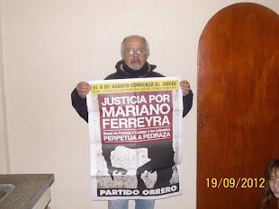 LITO LAPASTA, MECÁNICO Y MOTOQUERO, TAMBIÉN QUIERE JUSTICIA POR MARIANO
