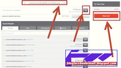 cara membeli domain baru di namecheap