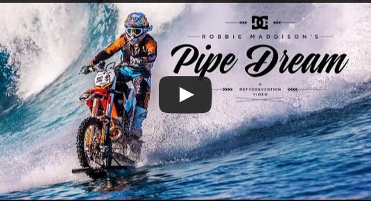 מטורף: הבחור הזה תופס גלים באופנוע חדש שמסוגל לנסוע בים וביבשה