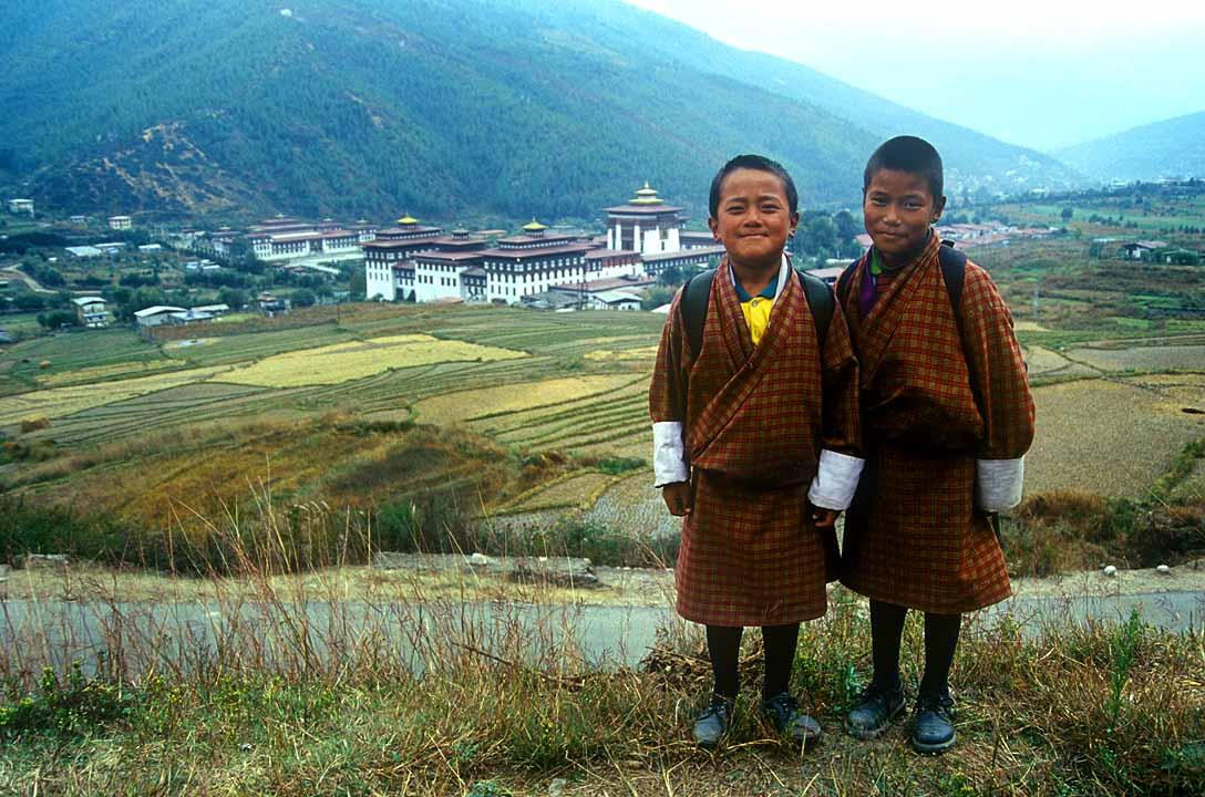 Children in Bhutan, ブータンの子ども達