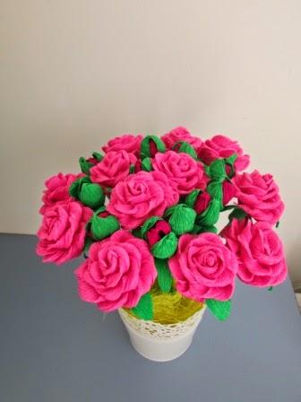 Róże cukierkowe