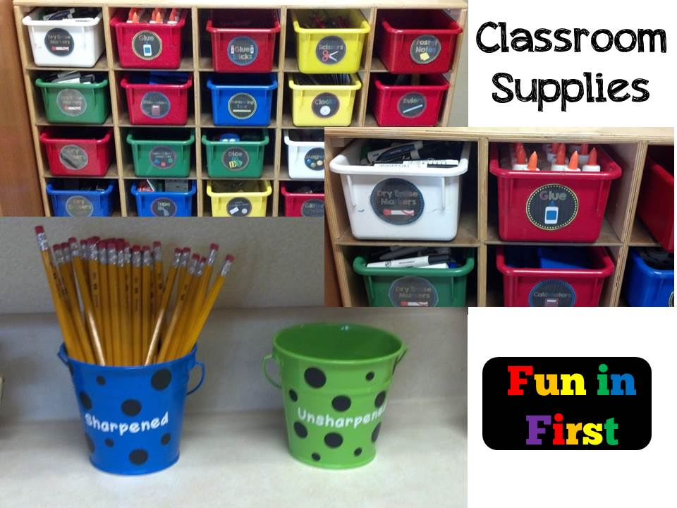 Classroom Decor Kit ~ Fun in first grade five for friday