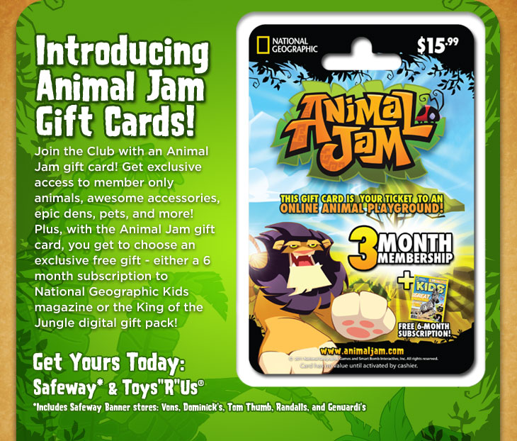 Animal Jam Newsletter