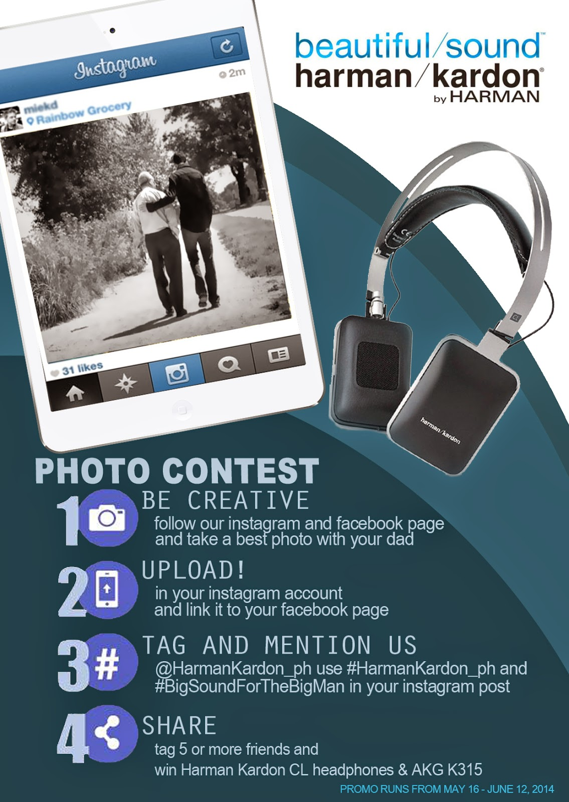 Harman Kardon Photo Contest Poster