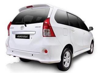 Spesifikasi Mobil Toyota All New Avanza 1.3 G