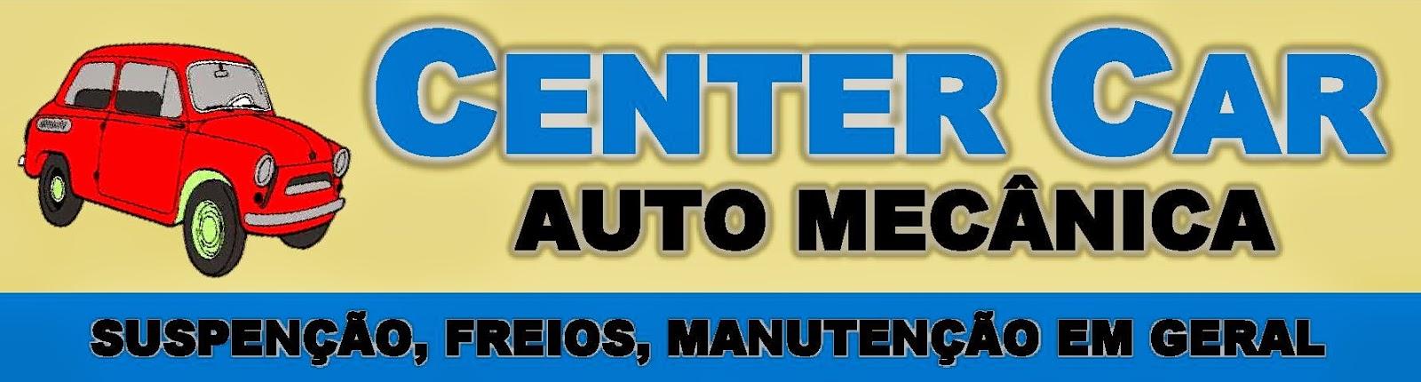 CENTER CAR AUTO MECÂNICA SUSPENSÃO, FREIOS, MANUTENÇÃO EM GERAL Av. Julio Holtz, 209 Centro - Sarapuí - SP tel: (15) 3276-1747