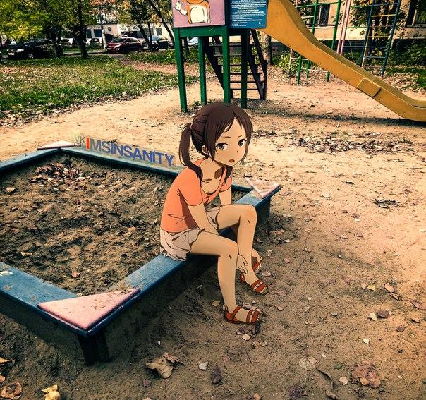 Anime, Ilustrasi, Foto, Gambar, 2D, Jepang, Dunia Nyata, Real Life, Waifu, Shoujo Anime