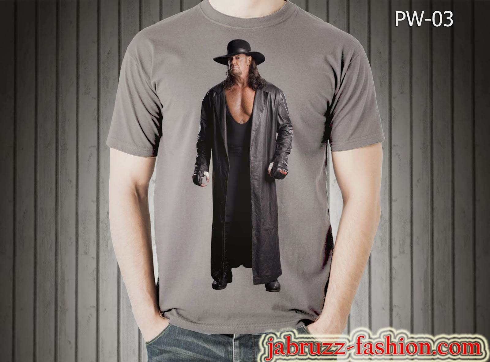 Kaos/T-shirt WWE Undertaker
