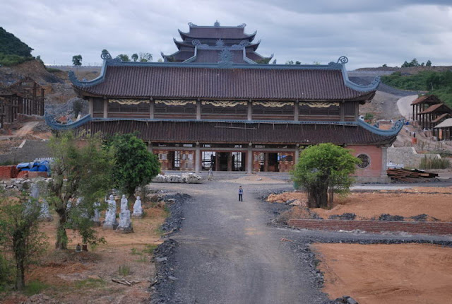 Bai Dinh - La pagode des records,  Photo An Bui