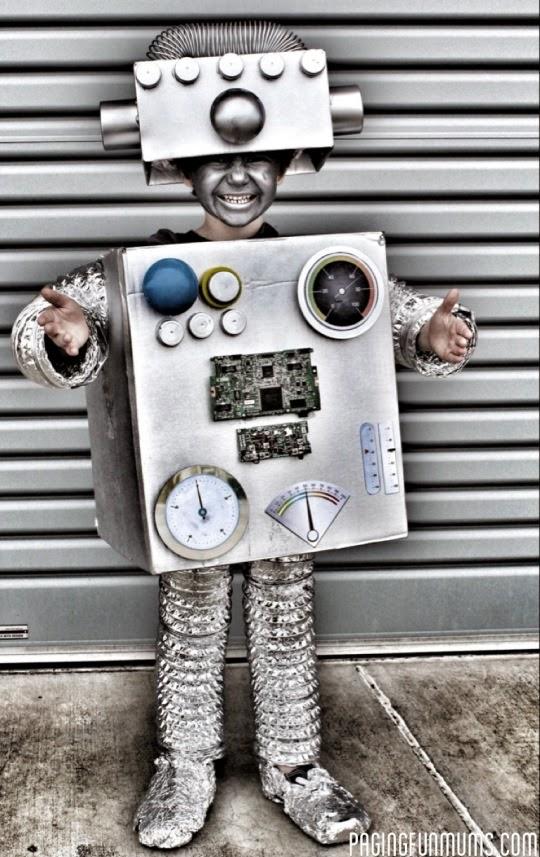 Disfraces hecho a mano para Niños de Halloween