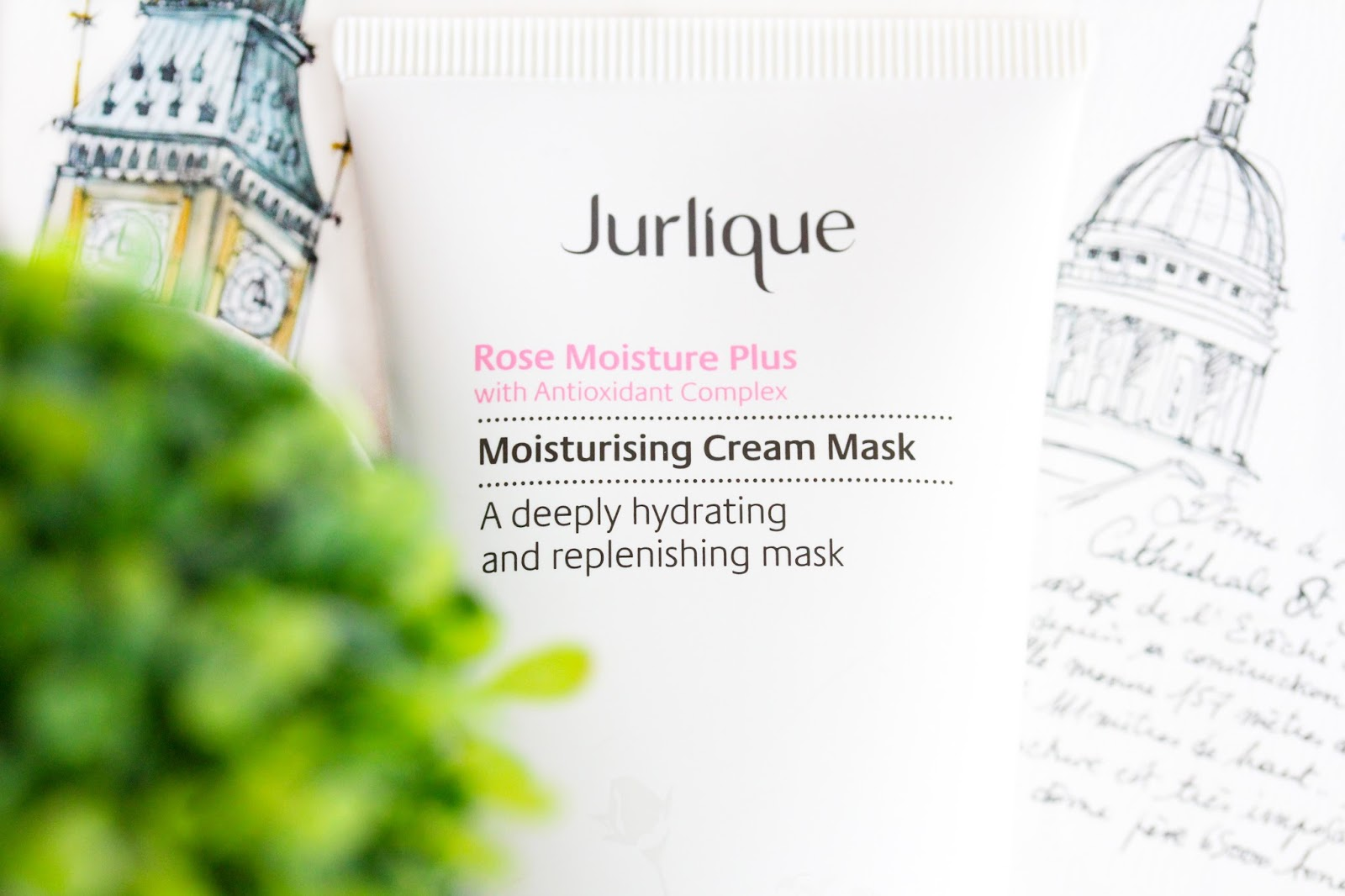 Jurlique Rose Moisture Plus Moisturizing Cream Mask With Antioxidant Complex