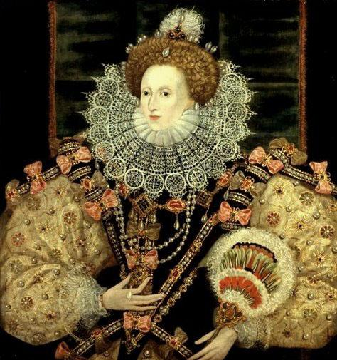 queen elizabeth first portraits. Portrait of Queen Elizabeth I