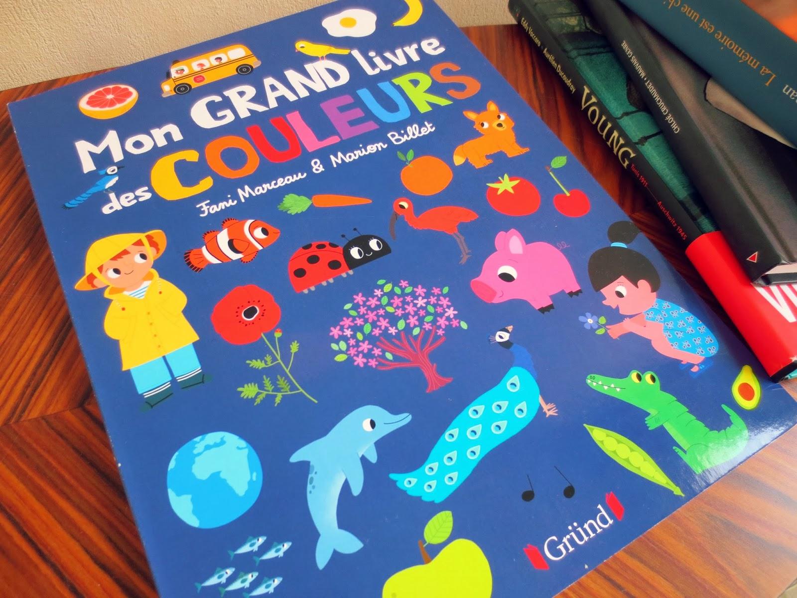 Et hop, dans mon sac !: L'imagier multicolore de Marion Billet !