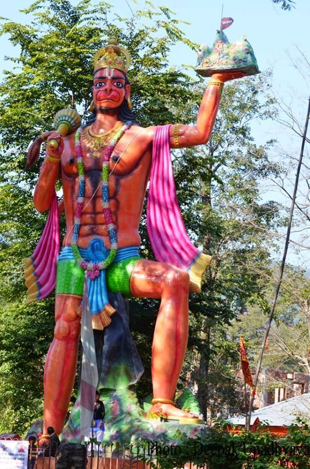 Hanuman Ji in Nepal