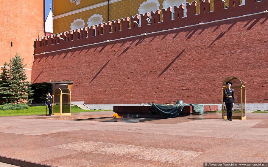 Могила Неизвестного солдата в Александровском саду | The Tomb of the Unknown Soldier
