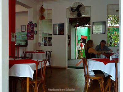 Restaurante Grão de Arroz: Ambiente interno